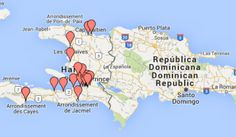 Carte des lieux de collecte Plastic Bank