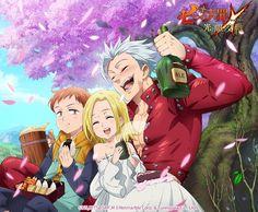 The Seven Deadly Sins: Grand Cross Seven Deadly Sins Anime, 7 Deadly Sins, Fanarts Anime, Manga Anime, Anime Events, Fairy Tail, 7 Sins, Grand Cross, Seven Deady Sins