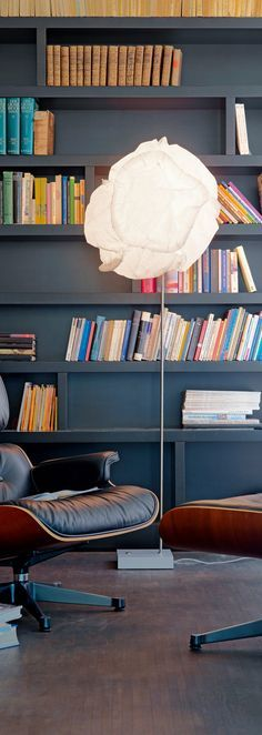 Cloud Lamp | Cloud floor lamp by Frank O. Gehry for Belux here perfect for a reading corner