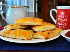 SCONES! Add some yummy goodness to your afternoon tea with this recipe.