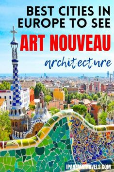29 Stunning Examples of Art Nouveau Architecture in Europe | Ipanema travels Best Cities In Europe, Road Trip Europe, Places In Europe, Europe Travel Guide, Spain Travel, Travel Tips, European Destination, European Travel, Christmas In Europe