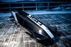 BMW's engineers trade asphalt for ice in a quest to craft a better bobsled for Team USA