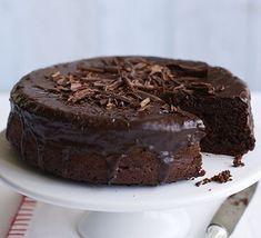 Eggless Chocolate Beetroot Cake