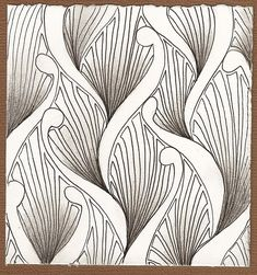 Zentangle template~~Tangles for Cards Doodles Zentangles, Tangle Doodle, Zentangle Drawings, Zen Doodle, Doodle Drawings, Doodle Art, Doodle Designs, Doodle Patterns, Zentangle Patterns