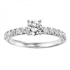 18ct White Gold 0.55ct Diamond Solitaire Ring#diamonds #diamondrings #engagementring #love #wedding #fashion #style #jewellery