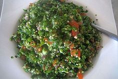 libanesischer-petersiliensalat-aus-zuckermaus-koch/ delivers online tools that help you to stay in control of your personal information and protect your online privacy. Healthy Recipes, Gourmet Recipes, Salad Recipes, Delicious Recipes, Smart Snacks, Eat Smart, 100 Calories, Tabbouleh Salad, Parsley Salad