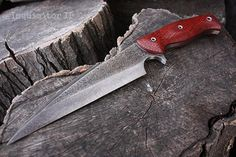 "Handcrafted FOF ""Inquisitor II"" Custom Full Tang tactical knife"