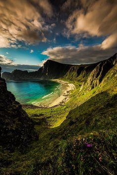 Beautiful Nature of Norway by Terje Nilssen The Hidden Beach