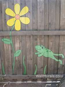 Ambrosial Garden fence lattice,Fencing ideas backyard and Modern fence ideas. Garden Fence Art, Garden Mural, Diy Fence, Fence Landscaping, Backyard Fences, Modern Landscaping, Fence Ideas, Gate Ideas, Farm Fence