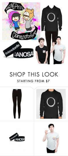 """""""danisnotonfire and amazingphil"""" by xcreepygirlx ❤ liked on Polyvore"""
