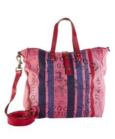 Canvas-Shopper von CAMPOMAGGI #conleys #pink