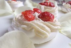 Pavlovovej mini tortičky - Recept