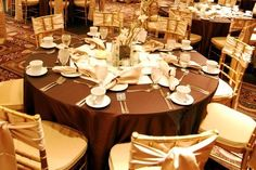 Wedding Brown Decorations - The Wedding Specialists