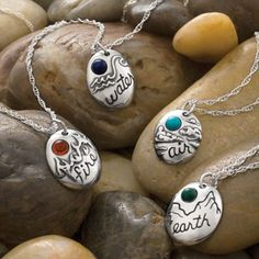 These beautiful sterling silver charms display your elemental sign based on your astrological sign. Aries, Leo, and Sagittarius are Fire signs: Strong, self assured, innovative and fun. Mens Silver Rings, Sterling Silver Chains, Sagittarius, Aquarius, Jewelery, Jewelry Rings, Jewelry Watches, Gemstones, My Style