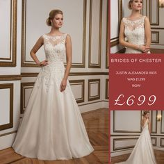 9a8b98b336 19 Best Wedding Dresses with Bateau Neckline at Brides of Chester ...