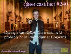 YES! THIS! THANK YOU CHRIS! I LOVE YOU MORE THAN EVER!!!! <<< I'M WEARING A RAVENCLAW TIE RIGHT ASI READ THIS OMG
