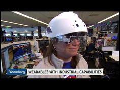 Daqri Smart Helmet: Augmented Reality for the Workplace Augmented Reality, Virtual Reality, Business News, Workplace, Politics, Youtube, Helmets, Vr, Eyewear