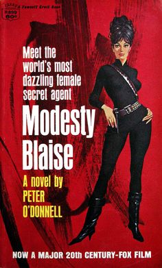 Modesty Blaise (Red Cover)