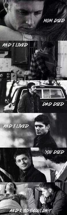 Dean! :'(