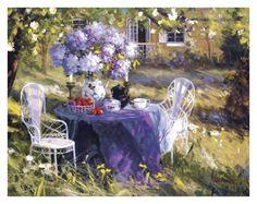 Lilac Tea Party Prints by Benjamin at AllPosters.com