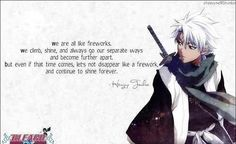 This is a really good quote said by toshiro hitsugaya from bleach Anime Qoutes, Manga Quotes, Bleach Quotes, Really Good Quotes, Avatar, Separate Ways, Manga Love, Bleach Anime, Shinigami