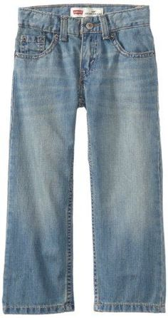 Levi's provides denim jeans that are comfortable and stylish with the perfect fit that has stood the test of time. These 505 jeans feature five pockets, zip fly closure, straight fit and sit low on the waistline  http://darrenblogs.com/us/2017/11/22/levis-boys-505-regular-fit-jeans/