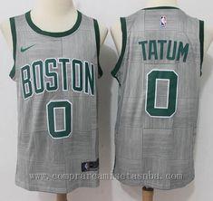 NBA nike City Edition gris Jayson Tatum Boston Celtics 2018 Marca  nike  Equipos  Boston Celtics Jugador  Jayson Tatum Adecuado para  Hombre Estilo   ... 3e766369c09