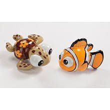 Disney Finding Nemo Wind Up Bath Toys by Disney. $20.26. For parents looking to entertain their little ones during bath time theres the Disney Nemo Wind-up Toys. They wind up and swim around the bath tub- guaranteed to make your child giggle. Easy for little hands to hold.
