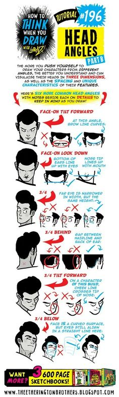 196 head angles b could you do a nose tutorial or like a dump if various noses you draw i ve kind of lost my feeling to drawing noses at all angles somehow and i d like to see some of yours to maybe help c no Art Reference Poses, Anatomy Reference, Drawing Reference, Figure Drawing, Drawing Lessons, Drawing Techniques, Drawing Tips, Head Angles, Head Anatomy