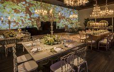 Decoração de casamento em verde e branco na Casa Itaim - Constance Zahn | Casamentos