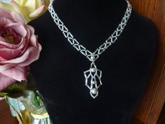 FREE beading pattern for Bugle Deco Necklace