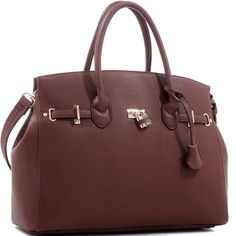 Concealed Carry Ambidextrous Designer Inspired Classic Satchel | The Wanted Wardrobe Boutique