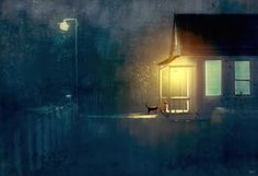 One more meatball supper for you. #pascalcampionart