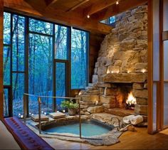 Funny pictures about Perfect Indoor Jacuzzi And Fireplace. Oh, and cool pics about Perfect Indoor Jacuzzi And Fireplace. Also, Perfect Indoor Jacuzzi And Fireplace photos.