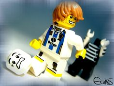 LEGO Soccer Player by ~OnizukaAS on deviantART