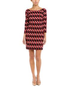plenty by Tracy Reese Black & Ruby V-back Shift Dress is on Rue. Shop it now.