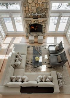 Nice 67 Inspiring Living Room Layouts Ideas with Sectional. More at https://trendecor.co/2017/09/22/67-inspiring-living-room-layouts-ideas-sectional/