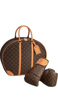 LOUIS VUITTON | Louis Vuitton Icon and Iconoclasts Collection.Punching Suitcase Karl Lagerfeld
