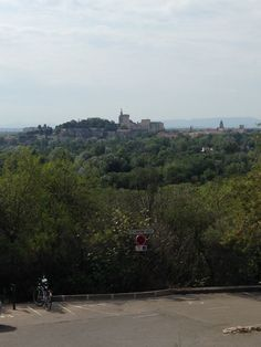 Avignon seen from Fort Saint-André