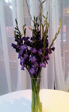 Centerpiece of Gladiolus