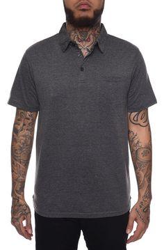 e66462b2 Filthy Etiquette Solid Basic Polo Shirt in Black #summerlooksformen  #cheapmensclothing #mensapparel Mens Fashion