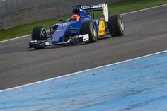 2015 pre-season test in Jerez. Day 2. Felipe Nasr. Sauber F1 Team. ► Updates from the race track: www.twitter.com/sauberf1team ► Videos: www.youtube.com/sauberf1team ► Everything about the car and drivers: www.sauberf1team.com - #F1 #SauberF1Team #ME9 #MarcusEricsson #FN12 #FelipeNasr #SauberC34 #FormulaOne #Formula1 #motorsport #photography