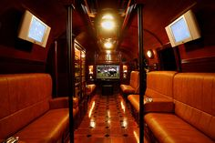 Mobile Cigar Lounge...totally glam.  Makes me wanna take up smoking...