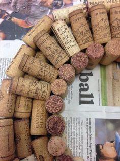 DIY: Dress your door with a wine cork wreath | DIY | FresnoBee.com