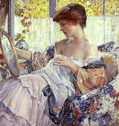 The Oval Mirror by Richard Edward Miller (USA)