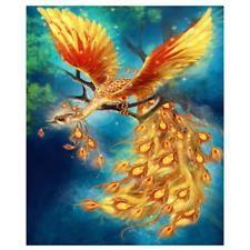 DIY Diamond Painting Kits Gold Phoenix on the Branches Mythical Birds, Mythical Creatures Art, Mythological Creatures, Phoenix Artwork, Phoenix Drawing, Phoenix Wallpaper, Tattoo Dragon And Phoenix, Phoenix Bird, Fantasy Paintings
