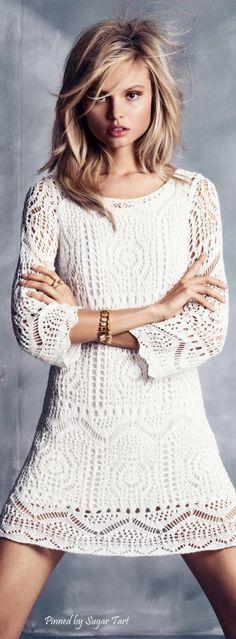 Magdalena Frackowiak for H&M - Modern Boho.  Via @anneke3244. #dresses #boho