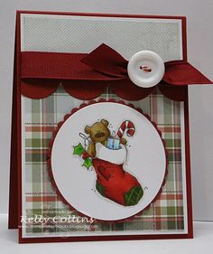 Stocking Full of Love by stinkincute - Cards and Paper Crafts at Splitcoaststampers