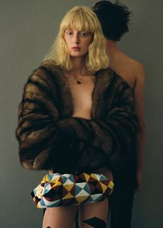 Laura Hagested by Lea Colombo for SSAW F/W 2014. Styled by Lotta Volkova Adam. #fashion #photography