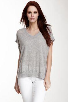 Inga Cashmere Poncho #light #grey #knit #summer #cover #up